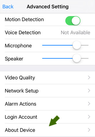 NetCamPro Find Your IP iPhone