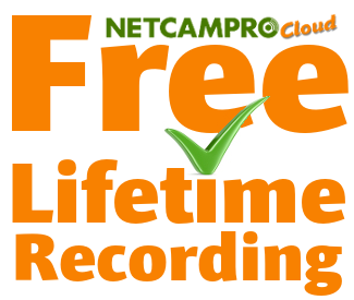 NetCamPro Lifetime Recording