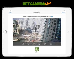 NetCamPro Live View Setup Mobile