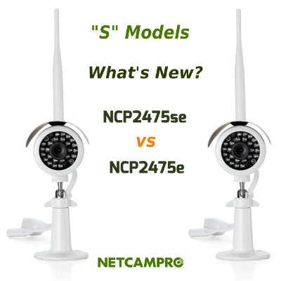 Tech Talk: S Model Cameras: NCP2475se vs NCP2475e