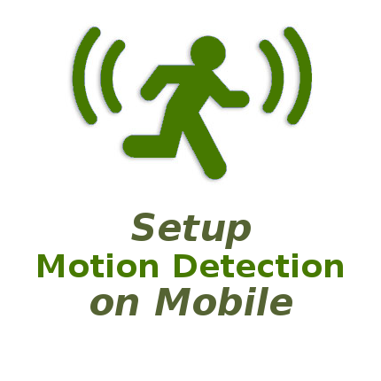 NetCamPro Setup Motion Detection On Mobile